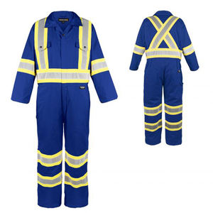 Hi vis Safety work wear Customized logo Security Work Wear Overall/ safety coveralls