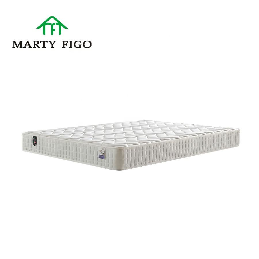 King Size Orthopedic Cool Gel Memory Foam Bamboo Topper Natural Latex Pocket Spring Hotel Firm Bed Mattress