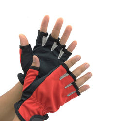 Non slip adjustable strap wholesale fishing Gloves / gloves for caught fish