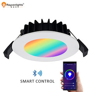 Son Tuya Downlight akıllı Bluetooth/WIFI RGB Led Downlight kısılabilir