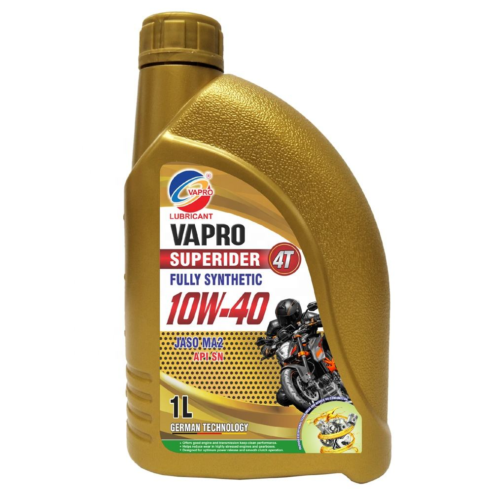 MOTORCYCLE ENGINE OIL 4T 10W-40 FULLY SYNTHETIC