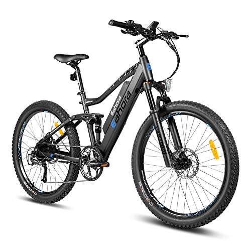48V 500W Motor Men ELectric Fat Tire Bike