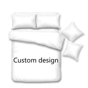 Private Customization 3d bedding set custom Design bed sheet Children's bedding set Full size