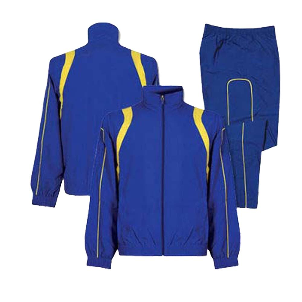 Custom 100% Polyester Windproof Mens Tracksuit/ Sports Track Suit