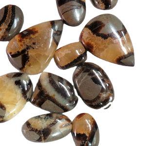 Natural Septarian Cabochons,Genuine Price Septarian Loose Stone,Septarian Semi Precious 126Cts. 52X33 Top Quality Septarian Gemstone MM