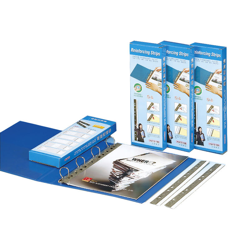 Folder Binder Self-Adhesive Reinforcing Edge Strips