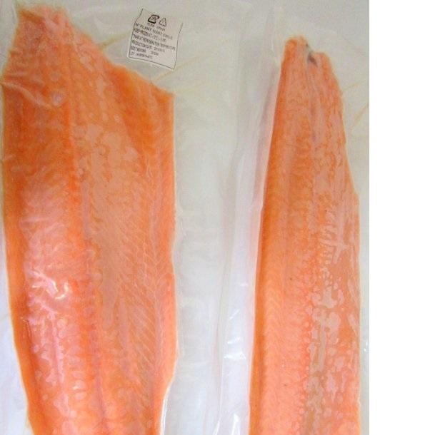 Frozen whole Atlantic salmon from Norway