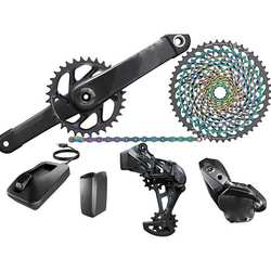 "BUY 2 GET 1 FREE -AUTHENTIC ""S R A Ms"" XX1 AXS Electronic Groupset: 175mm Boosts 34t DUB Crank 12 Speed"