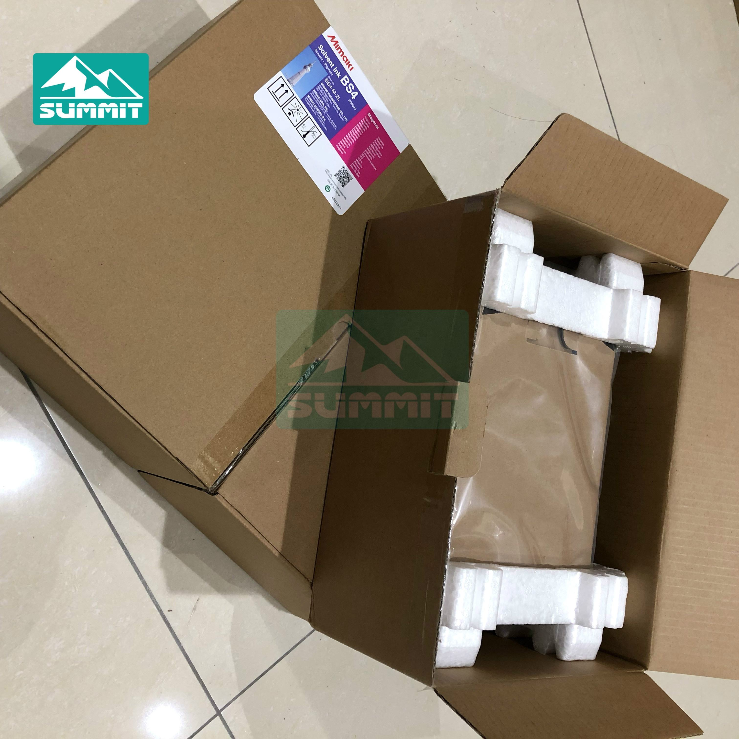 2Liter Original Mimaki Eco Solvent Ink BS4 Cyan/ Magenta/ Yellow/ Black For JV33/34/150/300 CJV30/150/300