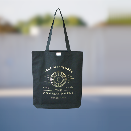 Promotional Logo Printed Custom 310 Gsm Cotton Canvas Tote Bag