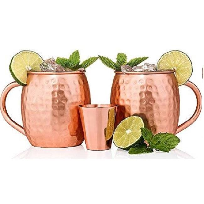 JULEP CUPS SILBER MINT METALL JULEP CUPS LEBENSMITTEL REINES <span class=keywords><strong>KUPFER</strong></span> HAMMERED MOSKAU MULE MOJITO JULE CUPS BESTE QUALITÄT