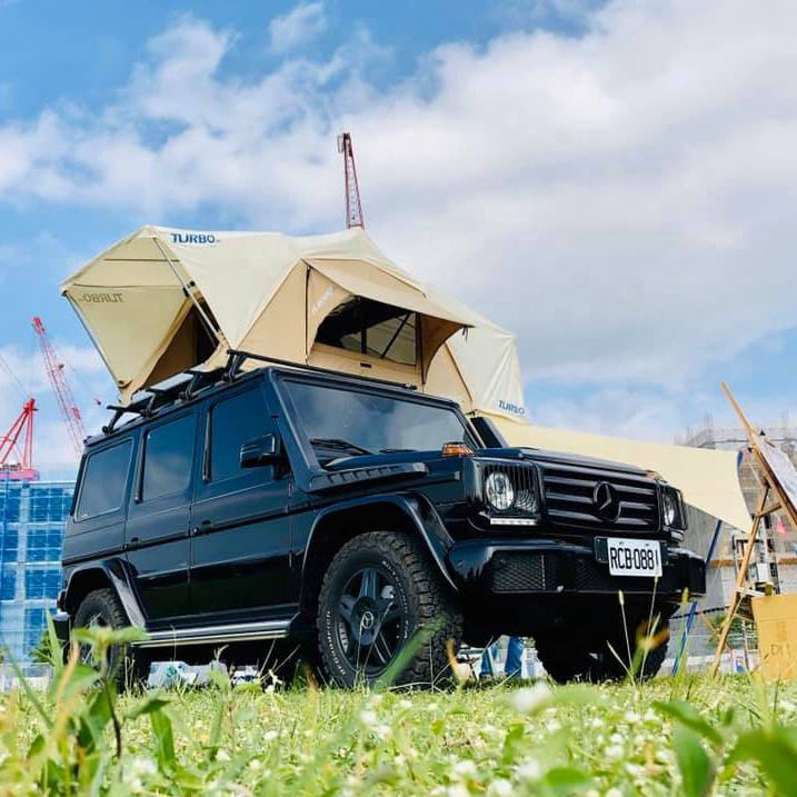ROOFTOP TENT -140、2人用RVキャンプテント
