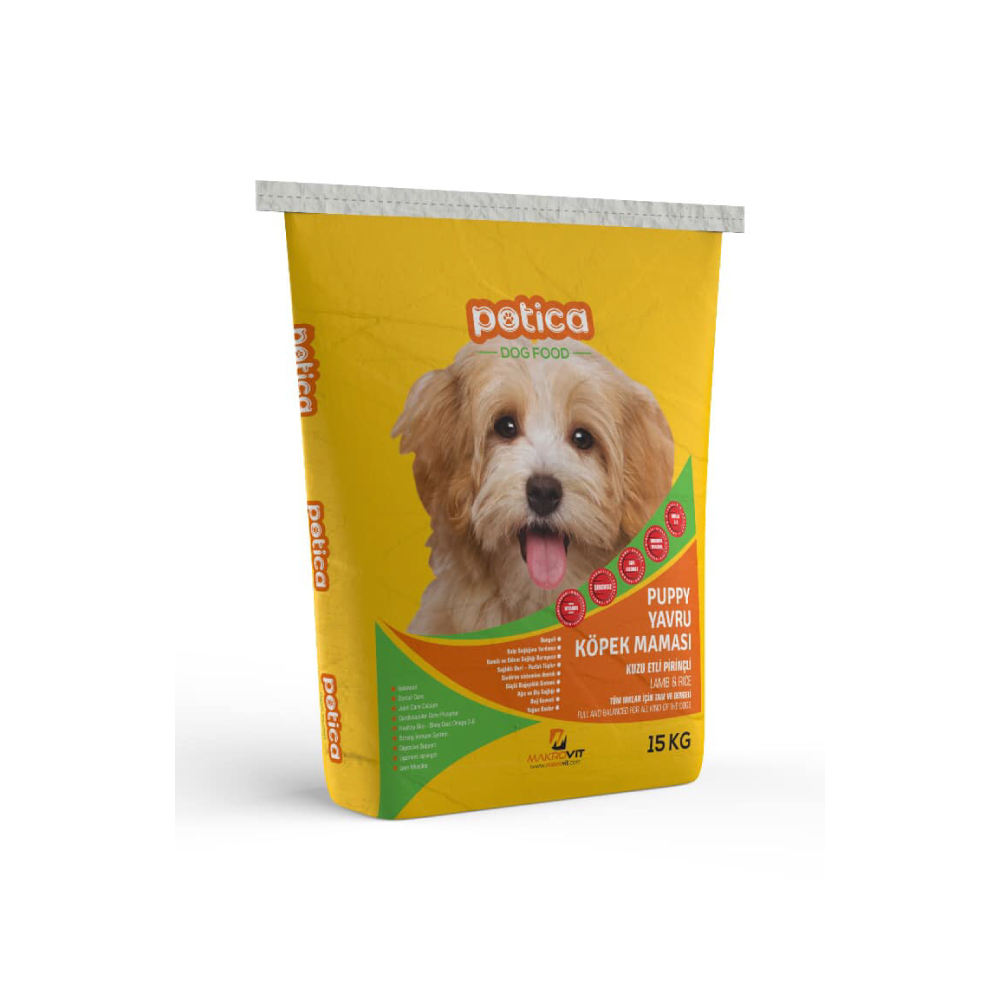 Potica Puppy Dog Food - Rice Dog Food With Lamb Meat Rice