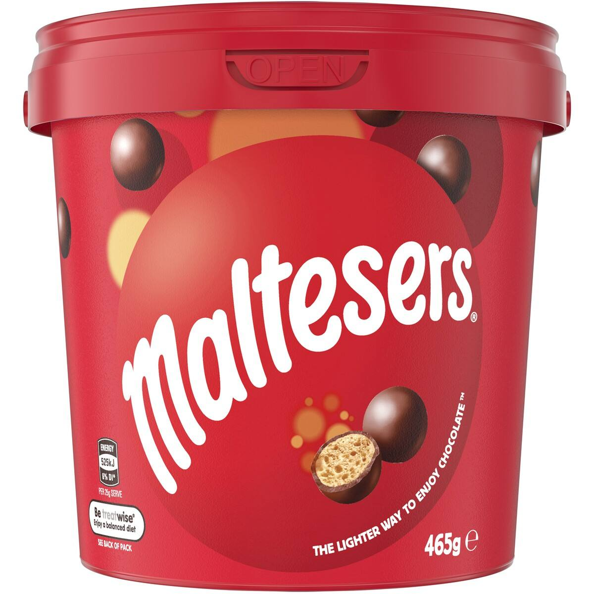 Maltesers 465g Chocolate Delicious Malt Balls