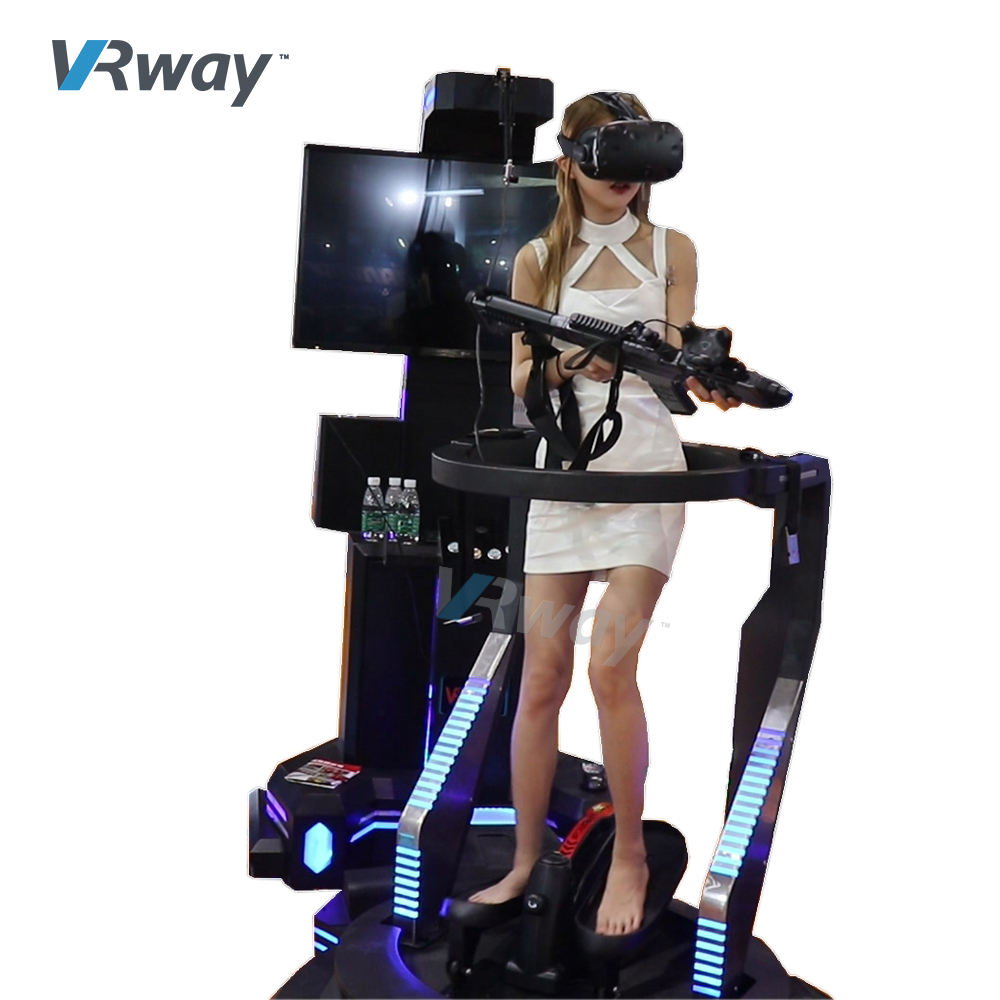 9D VR Walking shooting VR Treadmill 9d vr 9d virtual realityfor cinema 5d 6d 7d 8d 9d theater