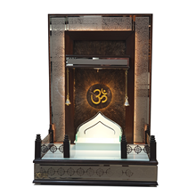Modern Wooden Pooja Temple formed to Blend with any Modern Interior  Most Selling Indian Wooden Mandir For Home/Office