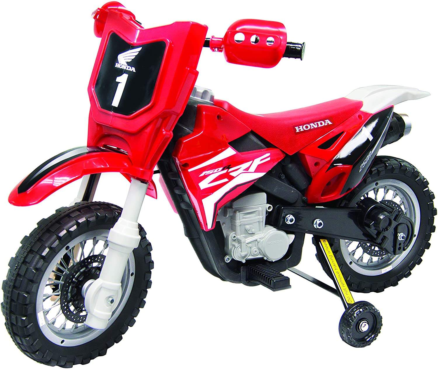 New Best Ride On Cars CRF250R Dirt Bike 6V Red