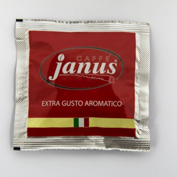 Coffee Pods Janus Extra Gusto Aromatico Caffe Cialde Made in Italy