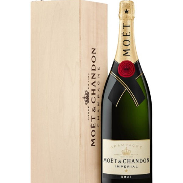 Moet & chandon imperial brut 6x75cl (シャンパン)