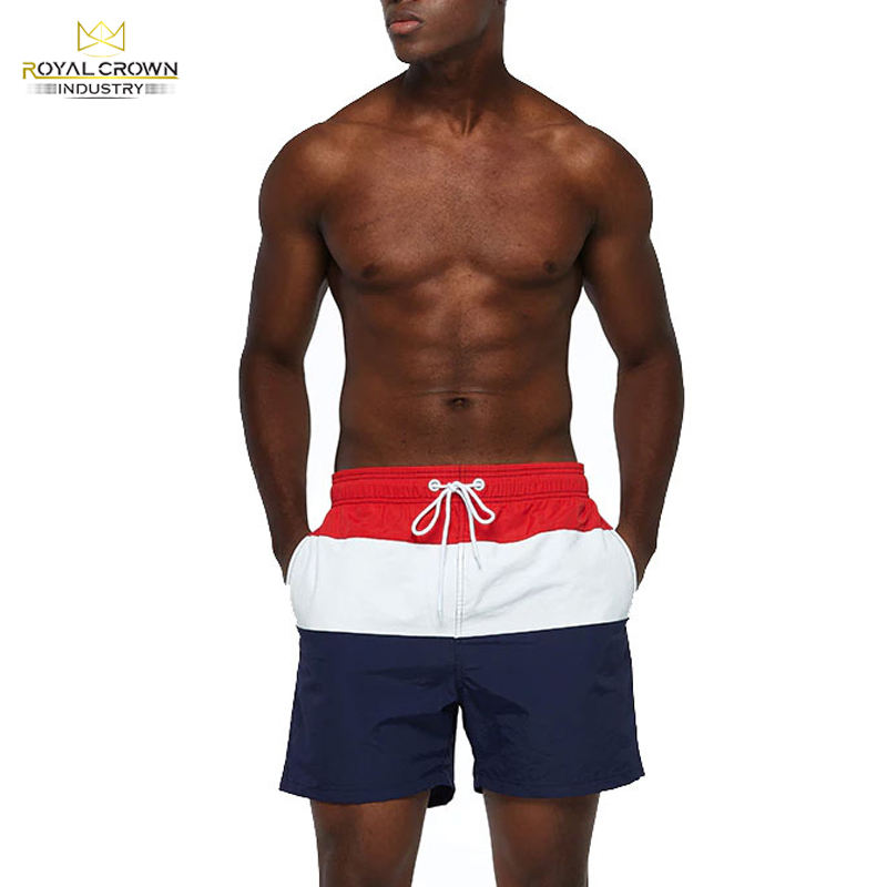 Summer Quick Dry Customized Swimwear Men Cheap Short Pants Waterproof Fabric Swim Beach Shorts