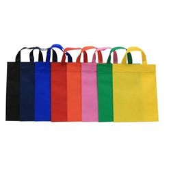 Eco-Friendly Shopping Bags Customized Promotional Non Woven Bags with Strap