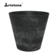 Artstone Claire Pot D17 H15 Outdoor Indoor Lightweight Decorative Garden Flower Planter Pot with Self Watering System Round Pot