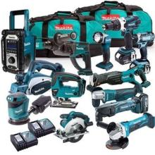 Wholesales=for  original Mmmakitas LXT1500 18-Volt L/X/T Lithium-Ion Cordless 15-Piece Combo Kit / power tool / cordless drill