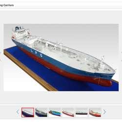 Korean Ship Carrier Model (Shinho Englineering Model)