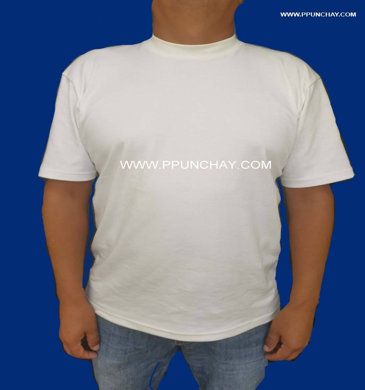 T Shirt in Organic Pima Cotton Ppunchay Peru Extra Soft and Nice Made in Peru