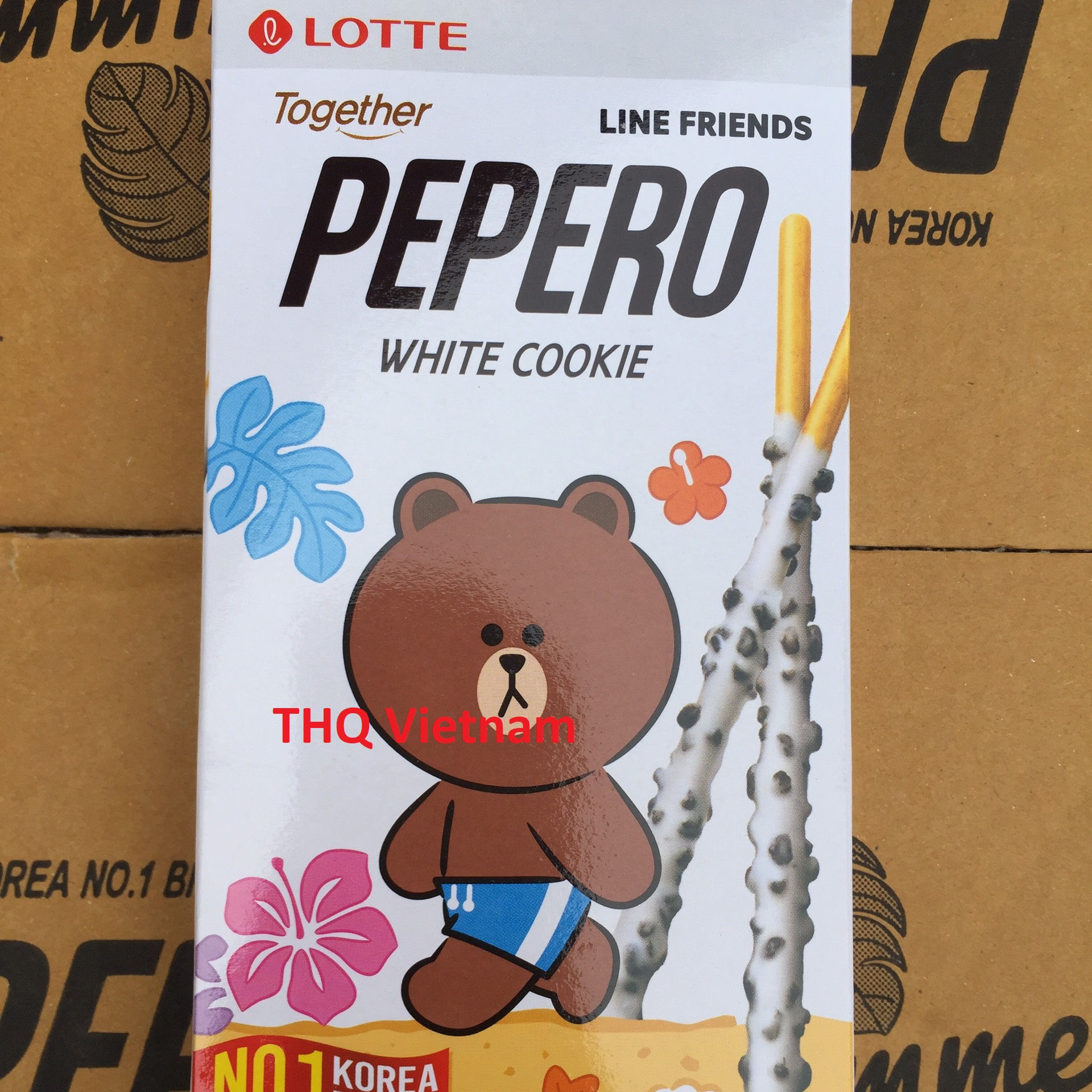 [THQ VIETNAM] PEPERO COOKIE STICK-almendra/<span class=keywords><strong>galleta</strong></span> Blanco/<span class=keywords><strong>CHOCOLATE</strong></span> 36GR * 40