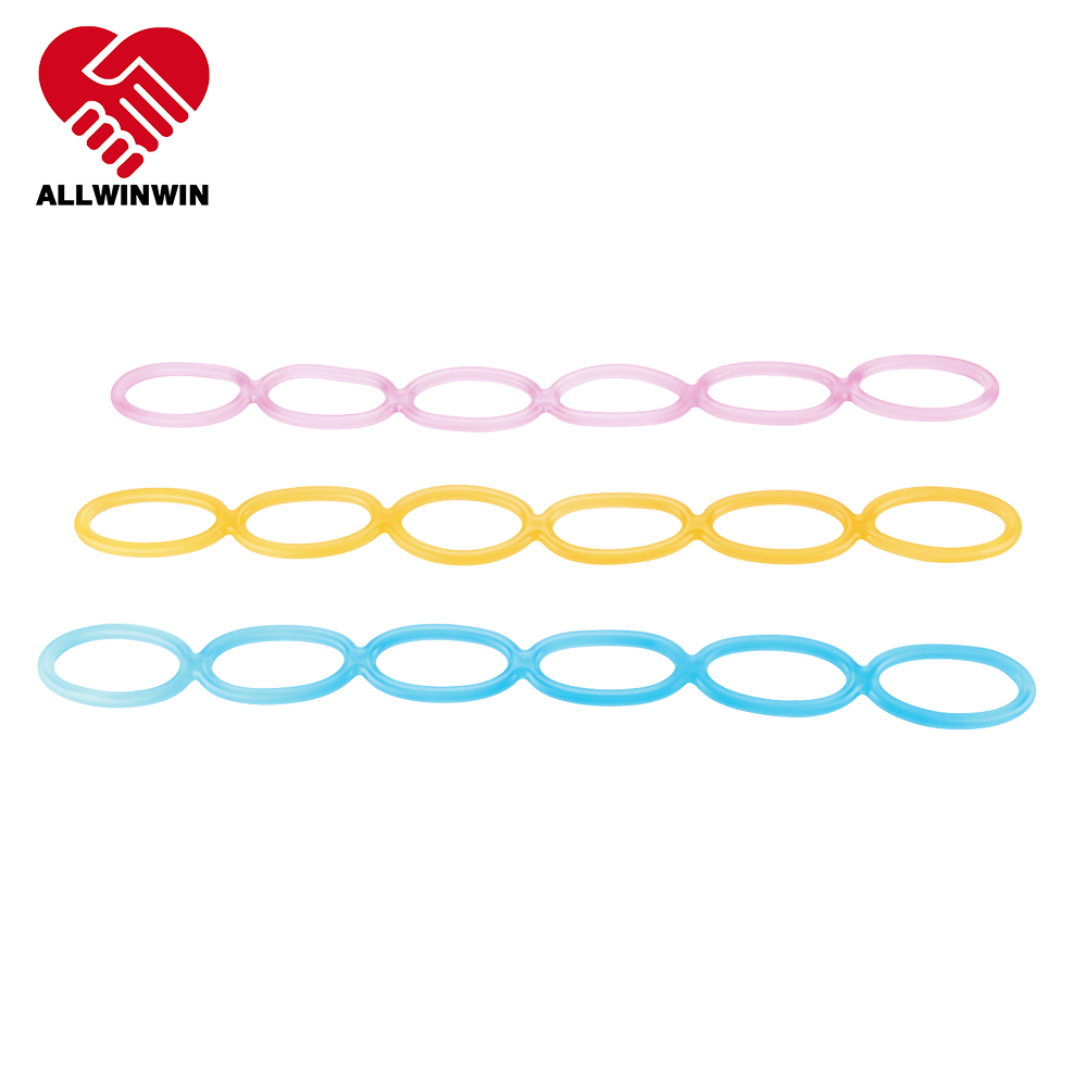 Allwinwin JLT12 Jelly Tube - Multi-Loop Expander Athletes Different Levels Resistance Band