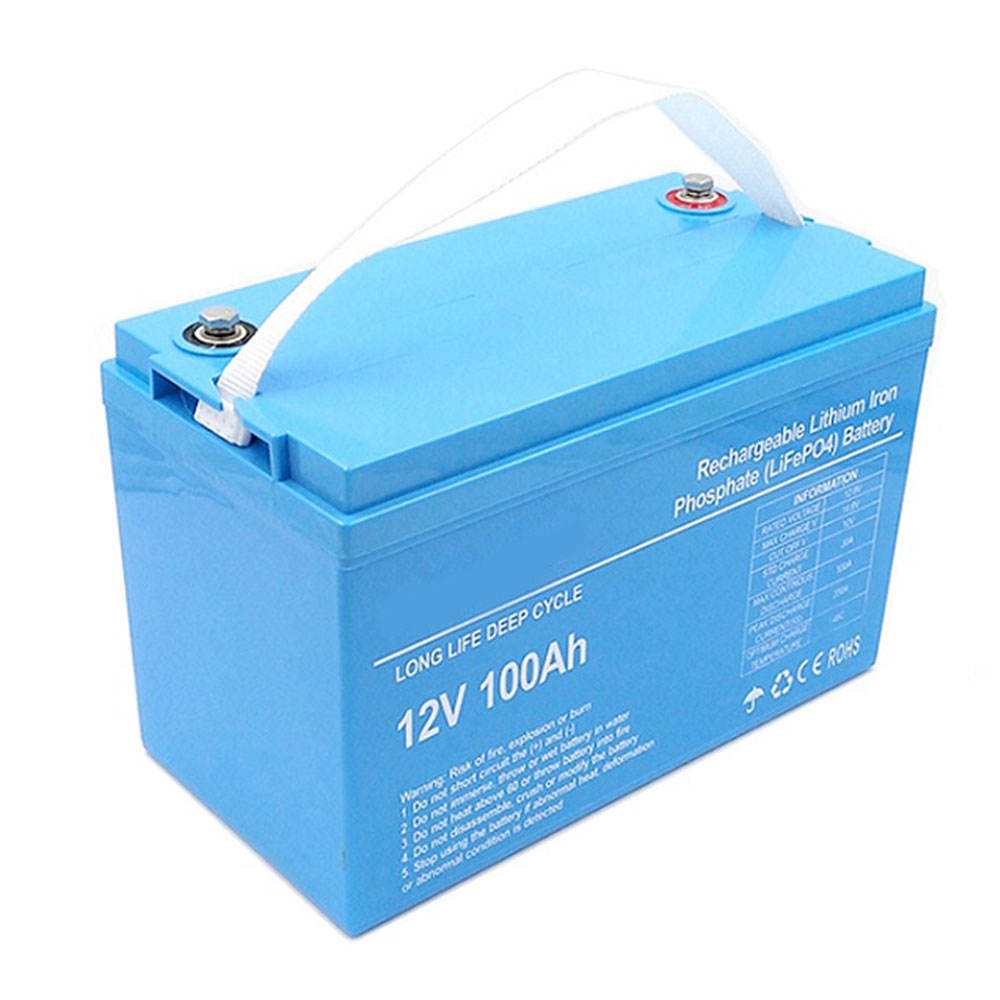 Gtk — batterie Lithium-Ion Lifepo4 12V, 100ah, nouvelle technologie, avec application