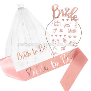 Hen Kit Bachelorette Party Supplies Bride To Be Bridal Shower Set Bachelorette Party Kit Bridal Shower Decorations Set