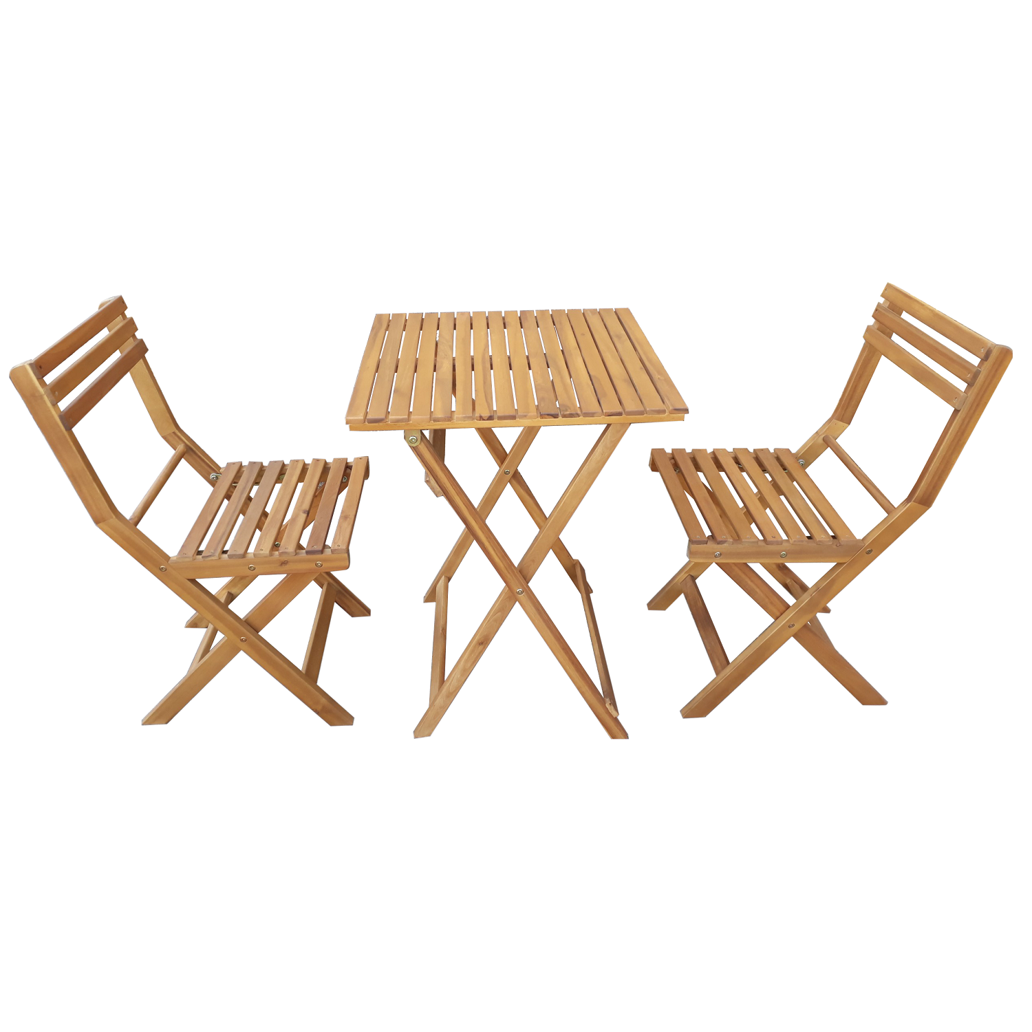 VIET NAM MODERN WOODEN BISTRO SET OUTDOOR IN TEAK LOOK