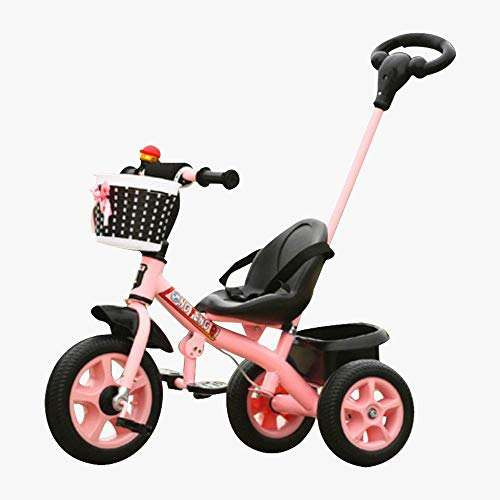 kids 3-wheels bike pedal baby tricycle