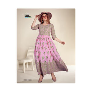 Indian Manufacturer of Long Anarkali for Party Wear