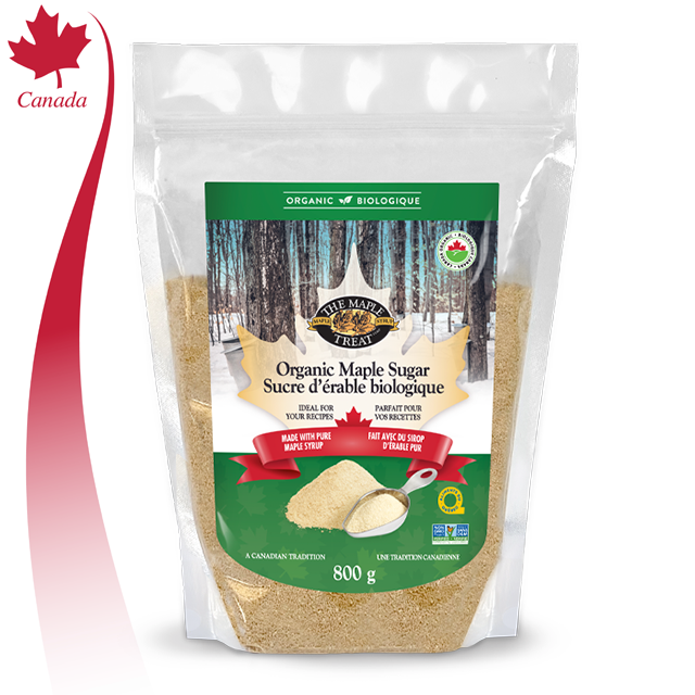800g Bulk Pure Organic Maple Sugar