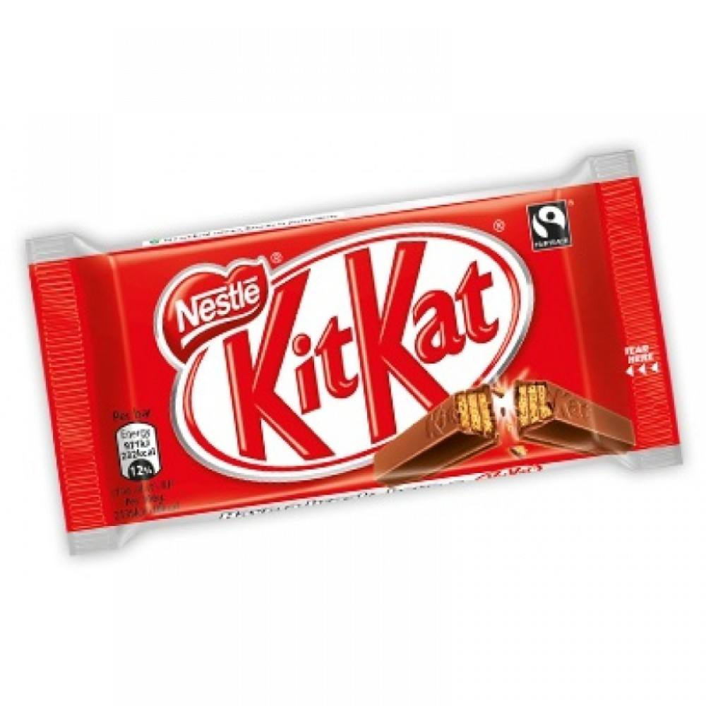 KitKat Crisp Wafers in Milk Chocolate Snack Size