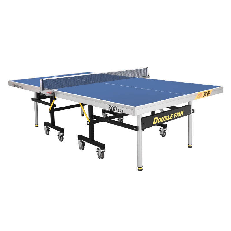 Doublefish 233 ITTF approved 25mm national championship table tennis wholesale pingpong table