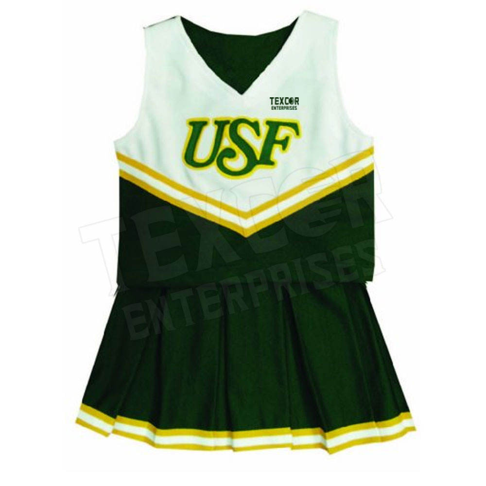 Custom Own Design Sublimation Netball Dress Cheerleading Uniform