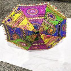 cotton patchwork parasols