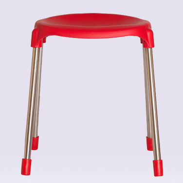 Plastic Stacking Stackable Stool Chairs for Kids and Adults - Camping/ School Chairs, Daycare Preschool Outdoor Furniture