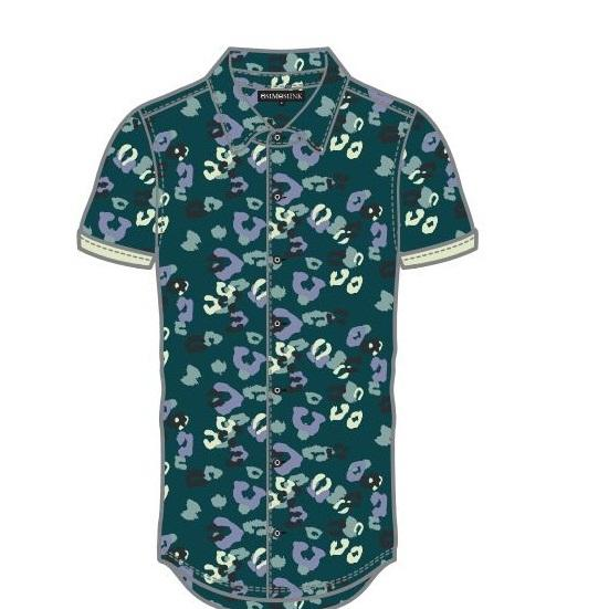 Holiday Beach Wear floral hawaiian aloha casual shirt for men short sleeve