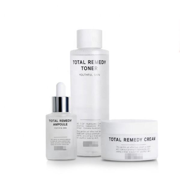 Premium ingredient contain Skin Care toner, cream, ampoule set