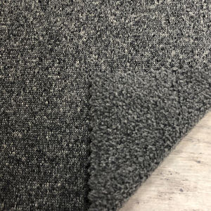 Mid Layer Melange Jersey Fleece 100% Polyester Fabric