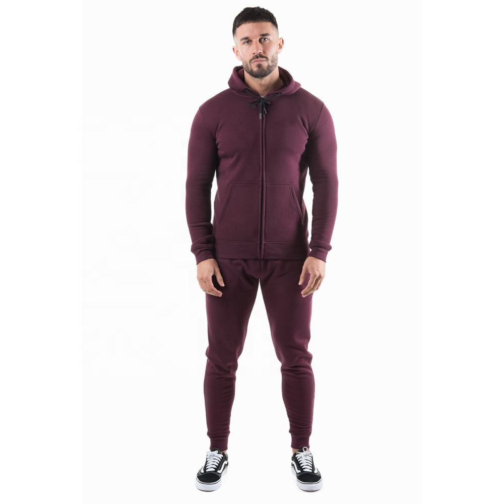 Hot Sale men's custom muscle training workout tracksuits men jogger suits