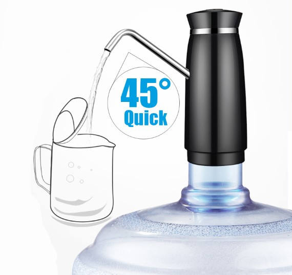 USB Charging Interface Portable Bottled Water Dispenser For 5 Gallon Bottles For Outdoor Indoor