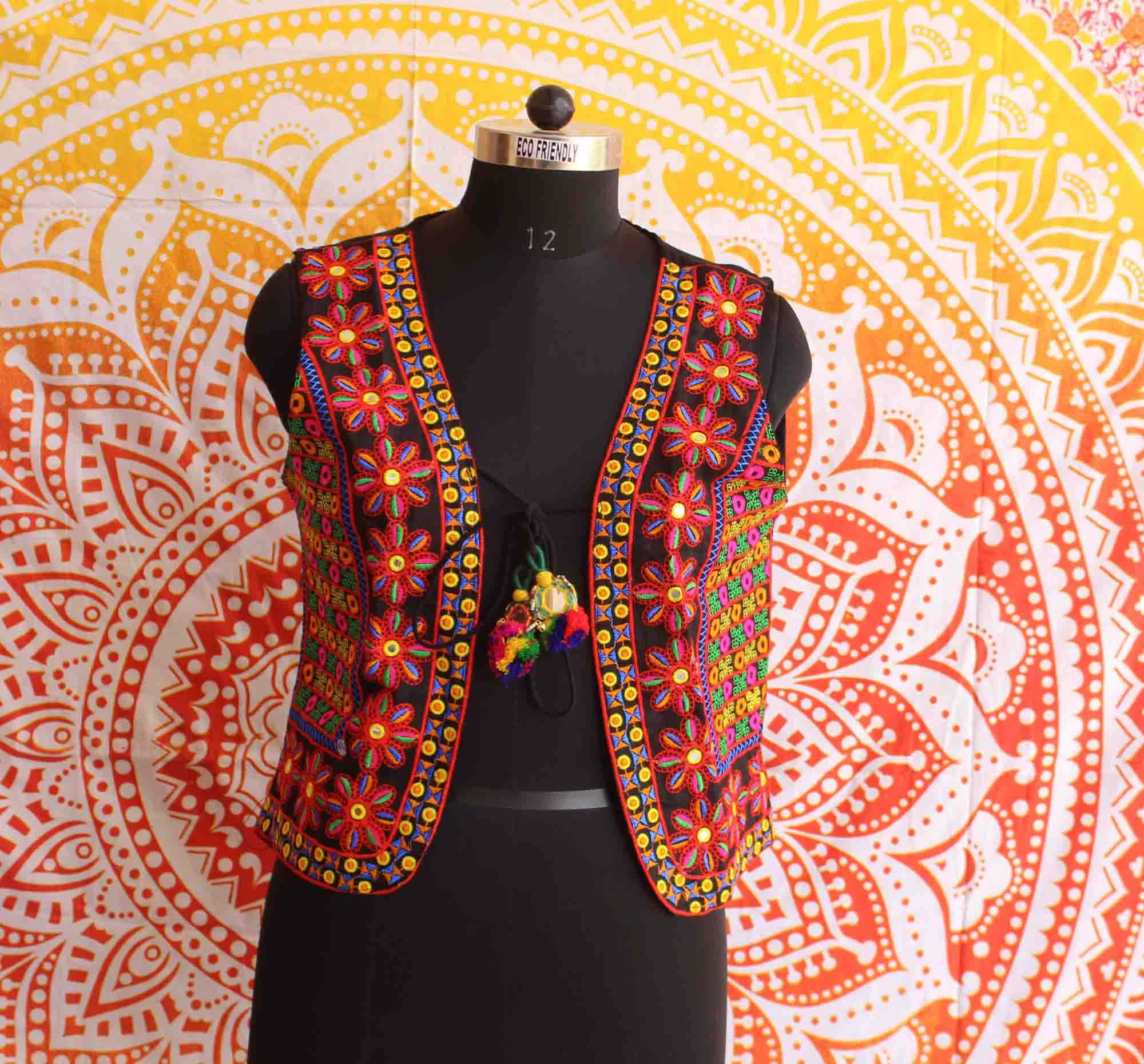 Women Kutch Embroidery Jacket