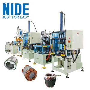 Motor stator assembly line automatic production machine stator production line