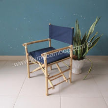 Bamboo Director Chair, Foldable Chair